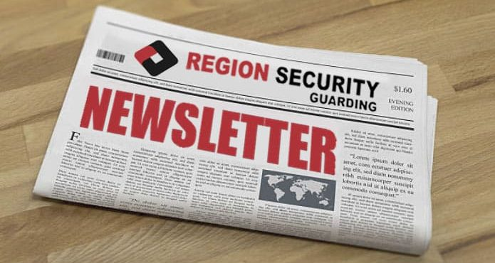 Security Company, Security Guards, Newsletter