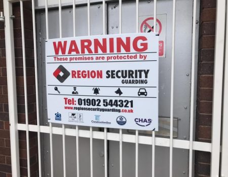 security company sign board, security guards, warning sign, security company board, security company sign