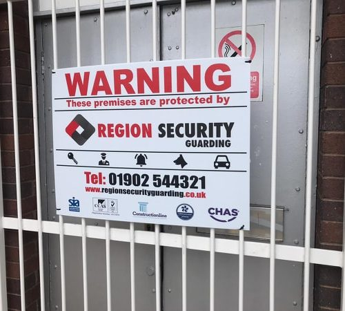 Security, Company, Companies, Guards, Services, sign, board, warning, doncaster