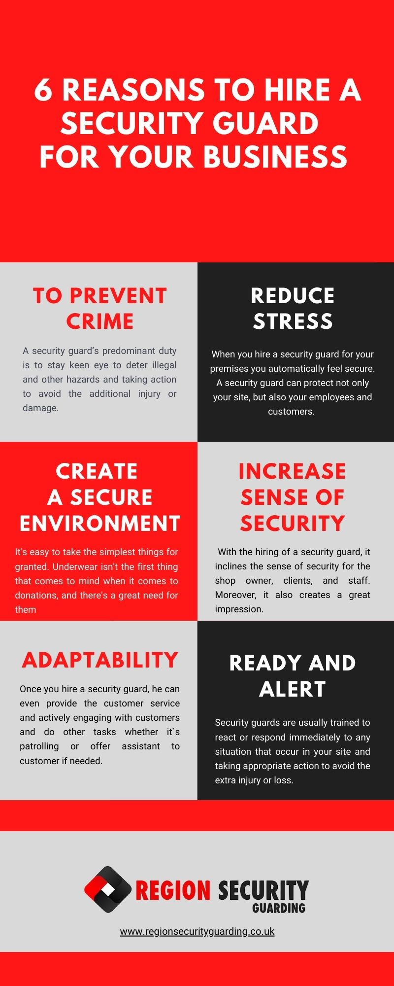 reasons to hire security guard